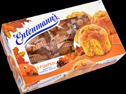 6 Pumpkin Muffins