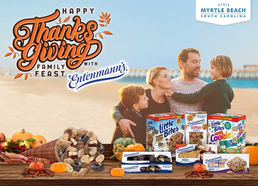 Thanksgiving Family Feast with Entenmann's Sweepstakes