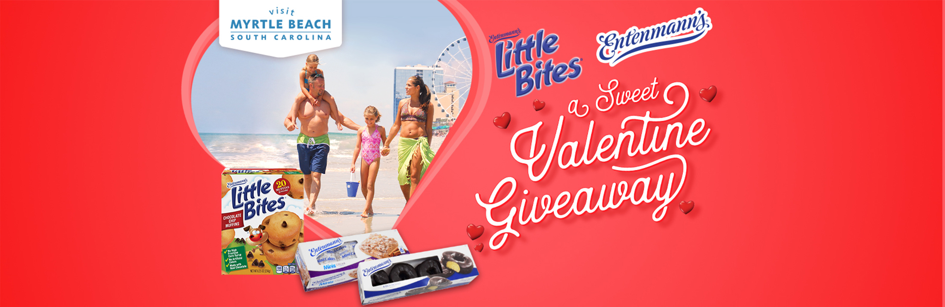 A Sweet Valentine Giveaway with Entenmann's® and Little Bites®
