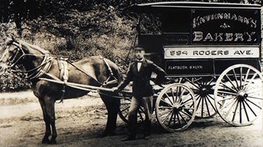 William Entenmann, founder of Entermann's Bakery, Bay Shore, circa 1890