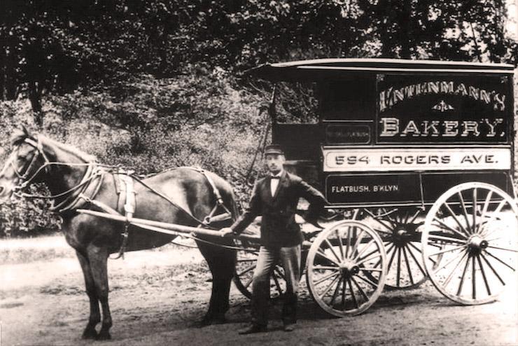 Entenmann's Horse drawn wagon