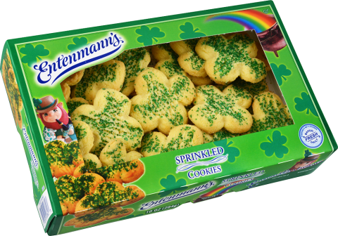 St. Patty's Sprinkled Cookies
