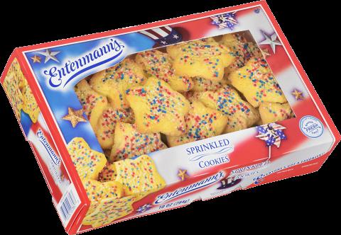 Patriotic sprinkled Cookies