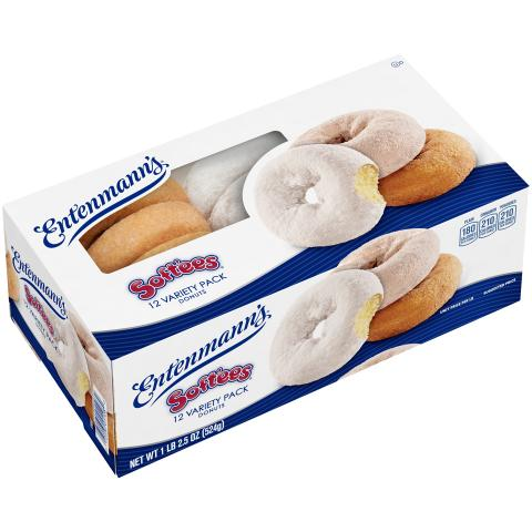 12 Variety Pack Donuts Soft'ee Family Pack