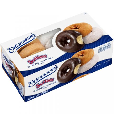 12 Assorted with Frosted Donuts Soft'ee Family Pack