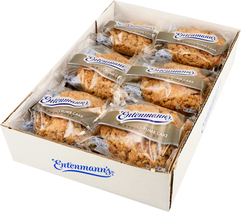 Club pack Crumb Cakes Individually Wrapped 12 count
