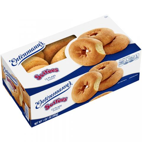 12 pack box Plain Donuts Soft'ees Family Pack