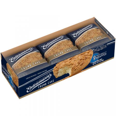 Club pack Crumb Cakes Individually Wrapped 9 count