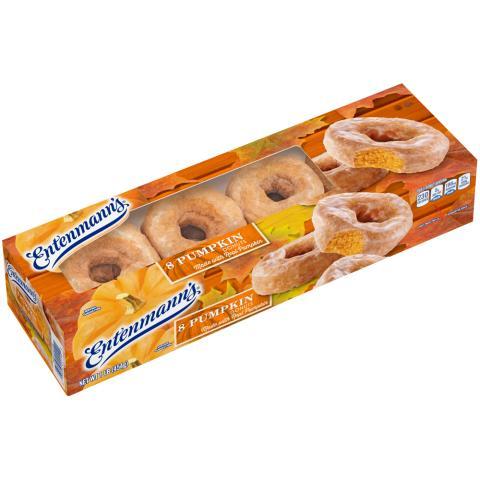 8 Pumpkin Donuts
