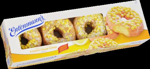 8 Lemon Crumb Donuts