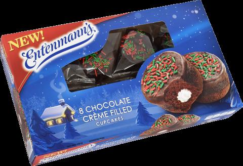 Entenmann S Chocolate Chip Cake Buttercream Crumb