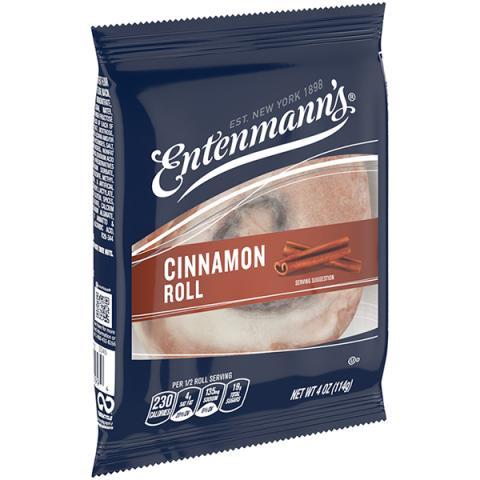 Single Serve Cinnamon Roll