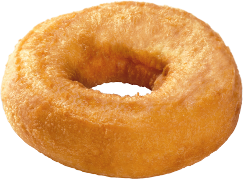 Plain Old-Fashioned Donut