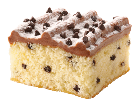 Chocolate Chip Iced Cake