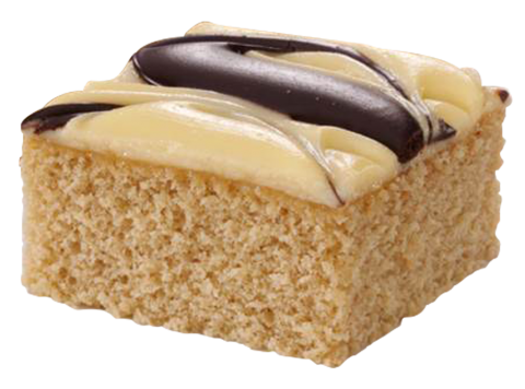 Iced Banana Cake