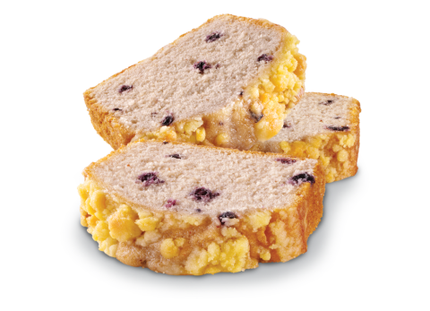 Blueberry Crumb Loaf Cake