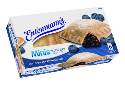 Minis Blueberry Snack Pie