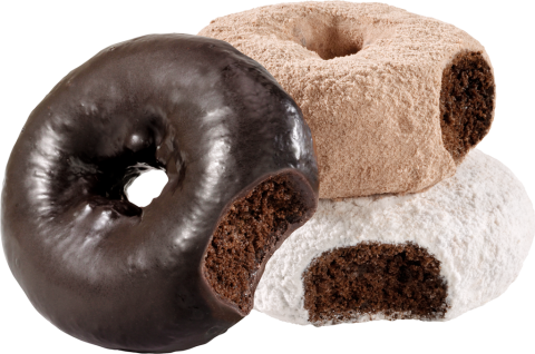 Chocolate Lover's Soff'ee Donuts