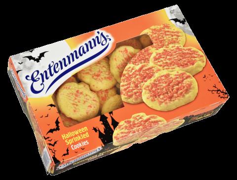 Halloween Sprinkled Cookies
