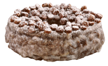 Devil's Food Crumb Donuts