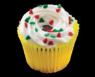 Winter Golden Cupcake