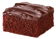 Chocolate Fudge Iced Cake
