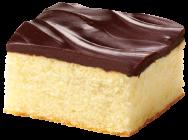 Fudge Iced Golden Cake