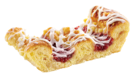 Raspberry Twist Danish