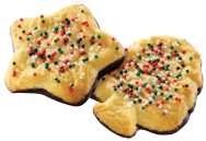 Holiday Sprinkle Gourmet Cookie