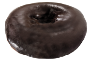 Frosted Softee Donut