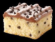 Chocolate Chip Iced Cake