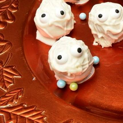 Pumpkin Mummy Pop'ems